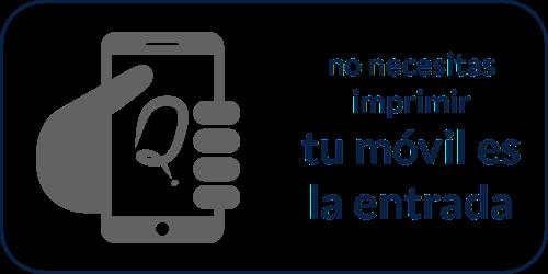 Tu móvil es tu entrada